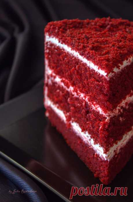 Красный бархат ( Red Velvet Cake) - Рецепт!