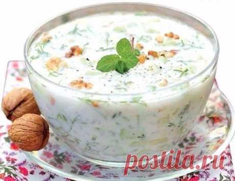 Холодный кефирный суп — Мегаздоров