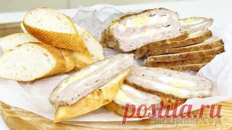 Мясной хлеб - это заменит любую колбасу