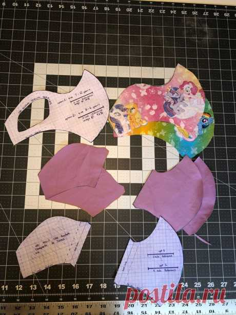 Kids Cloth Mask W/ Ear-Keyhole (WITH Pocket for Insert Filter ) : 20 Steps - Instructables