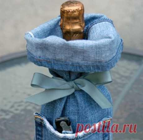 Творческие идеи создания интересных вещей из старых джинсов — HandMade