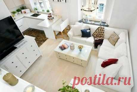 Квартира-студия, дизайны