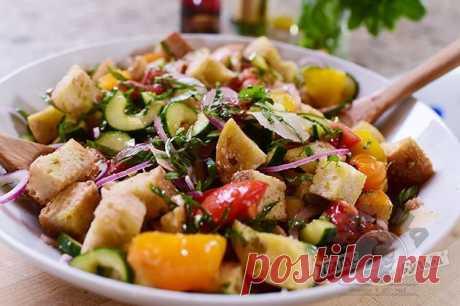 Нереальный Салат с сухариками! Классно и вкусно!