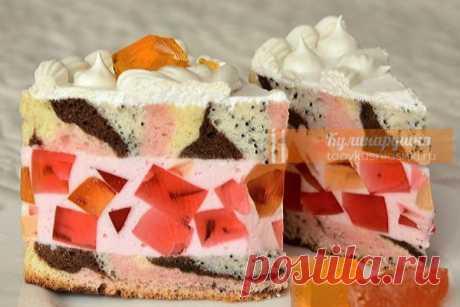 Очень вкусный торт «Цыганская тропа». Такую красоту даже жалко есть Шeдeвpaльнo!
