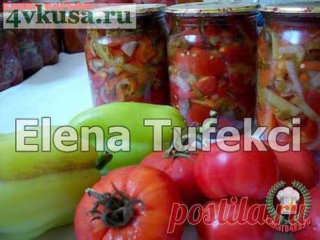 «Желейный салат из помидоров»