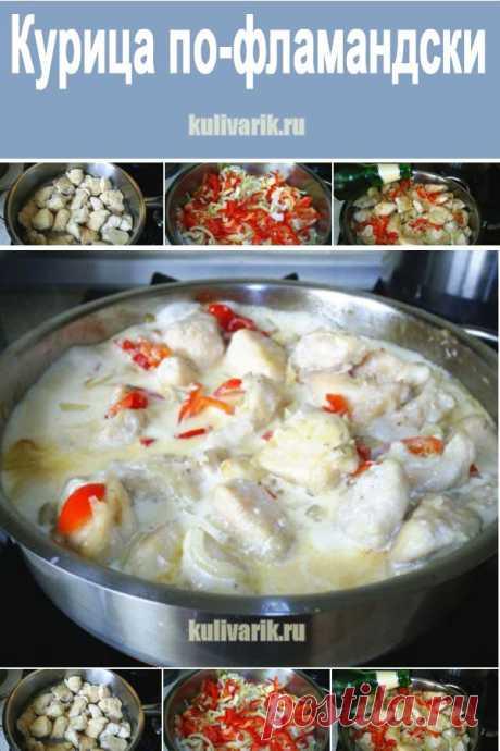 Курица по-фламандски - Кулинария