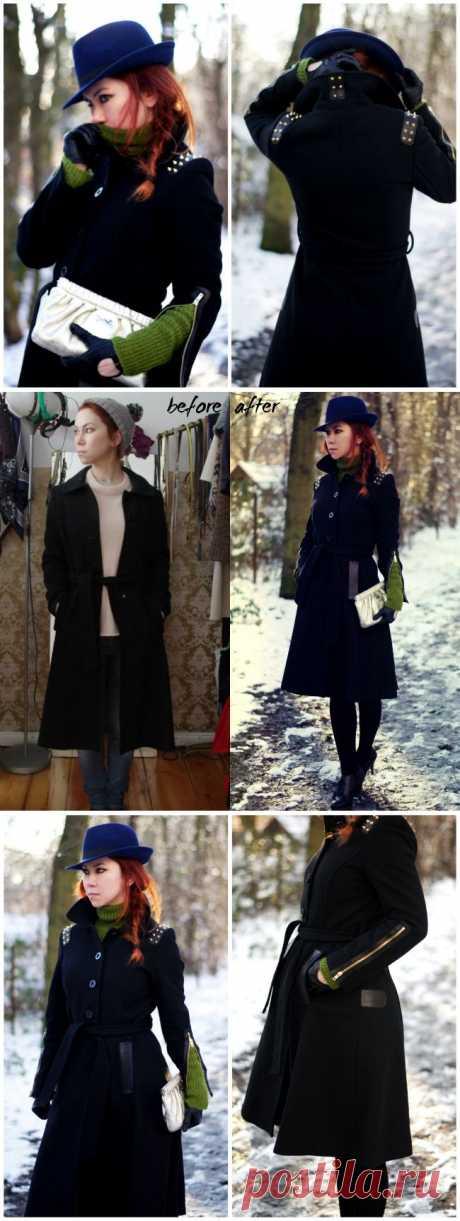 Переделка пальто (DIY) / Пальто и плащ / Модный сайт о стильной переделке одежды и интерьера