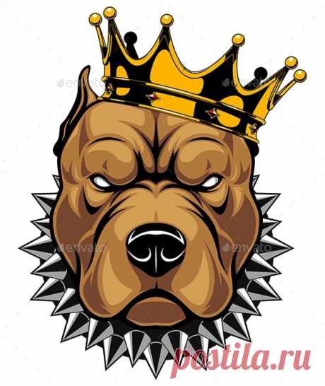 Head Dog by Andrey1005 | GraphicRiver