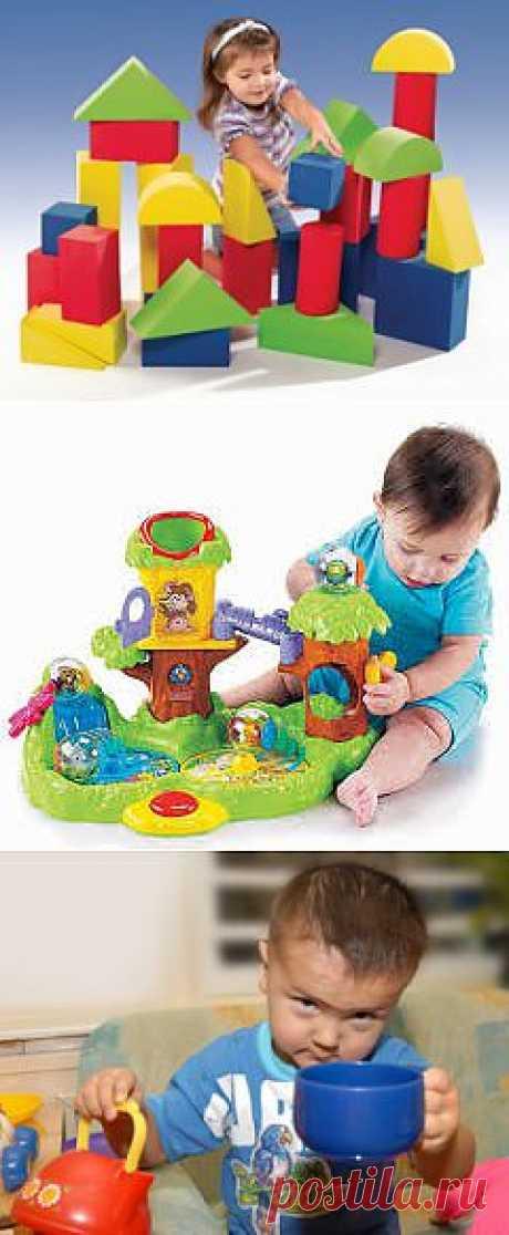 Какие игрушки нужны детям 2-3 лет? |