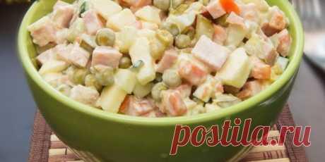 10 вкусных салатов с яблоками - Лайфхакер