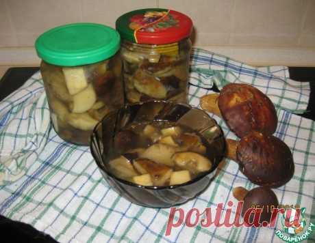 Польские грибы маринованные – кулинарный рецепт