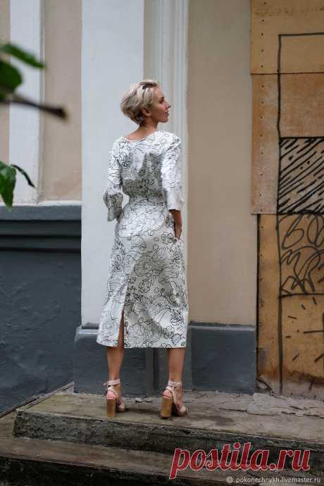 02815ccfca1 Платье  МАКОВОЕ ПОЛЕ – купить в интернет-магазине на Ярмарке Мастеров с  доставкой -