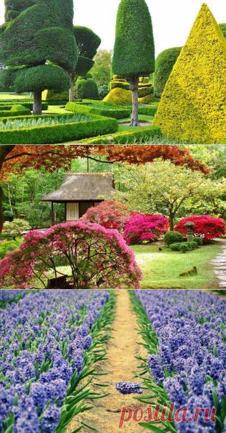 Как украсить сад. Декор для дачи и сада.