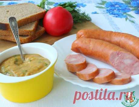 Яблочно-горчичный соус для колбасы и колбасок – кулинарный рецепт