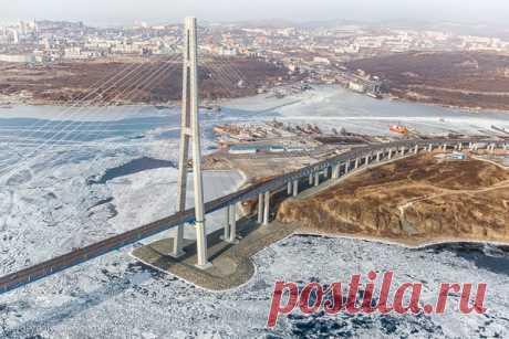 Владивосток и Русский остров с вертолета   sergeydolya   Яндекс Дзен