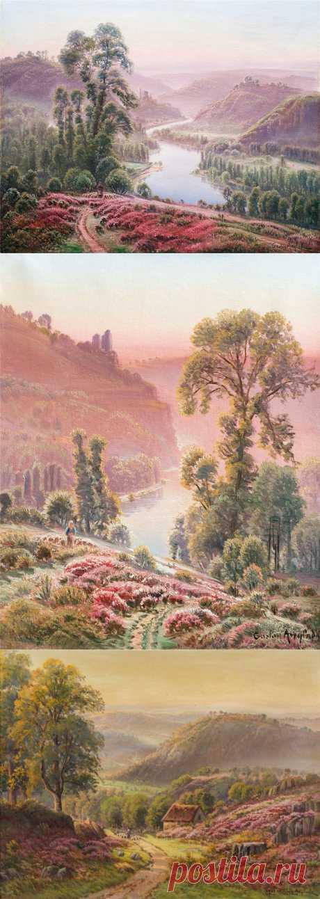 Вереск... Gaston Vincent Anglade (French, 1854-1919).