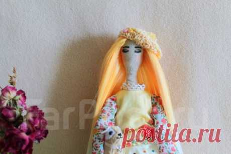 Интерьерная кукла Тильда Злата - Изделия ручной работы во Владивостоке