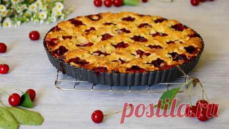 Классический Американский вишневый пирог (Обалденно вкусно!)   MaryanaTastyFood   Яндекс Дзен
