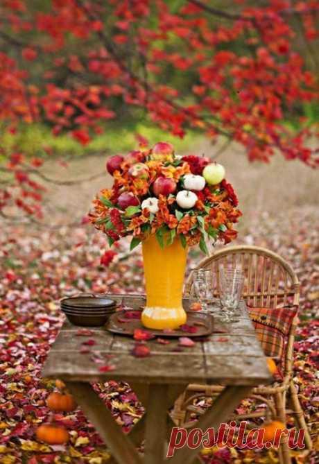 Я люблю осень. Напряжение, рык золотого льва на задворках года, потрясающего гривой листвы. Опасное время – буйная ярость и обманчивое затишье; фейерверк в карманах и каштаны в кулаке. /Джоанн Харрис/ #осень@nastroenie_sd