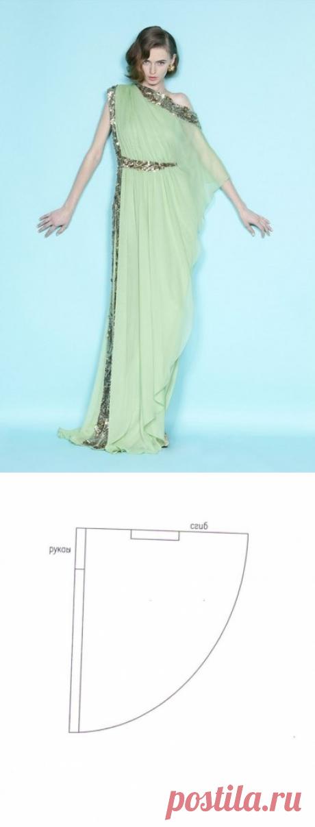 Нарядное новогоднее платье своими руками / Простые выкройки / ВТОРАЯ УЛИЦА