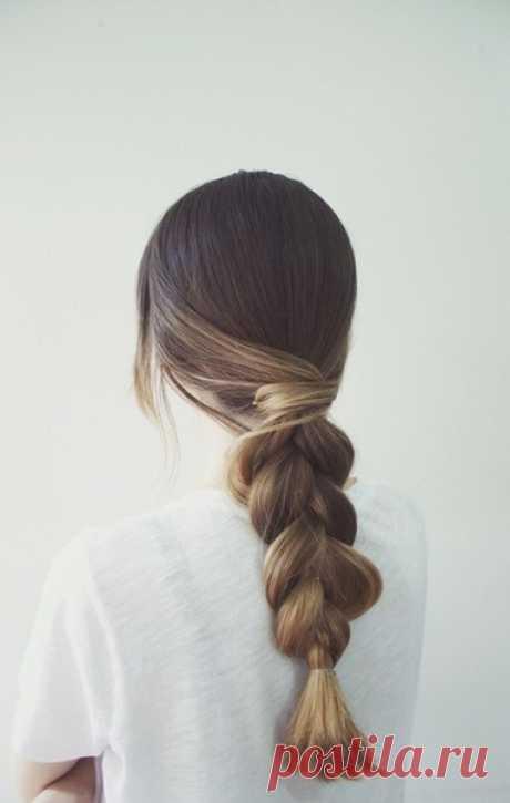 Идеи быстрых причёсок для длинных волос