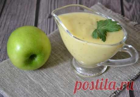 Яблочная заправка для салатов — Sloosh – кулинарные рецепты