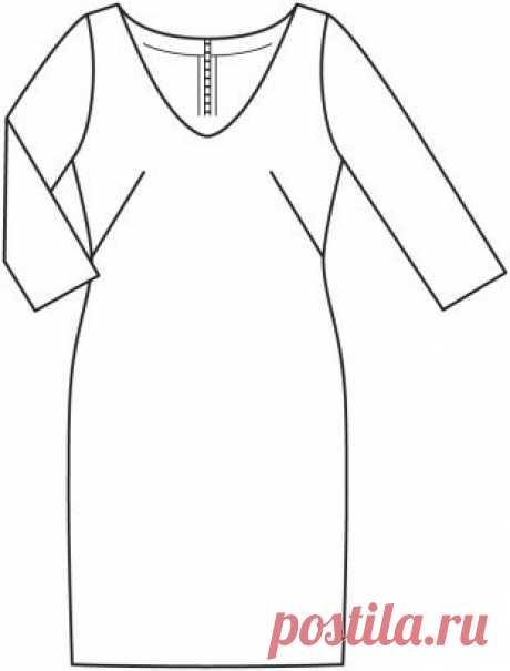 #платье# #выкройка# #шитье# #пдф# #бесплатно# #электроннаявыкройка# #школарукоделия# #одежда# #моделирование#