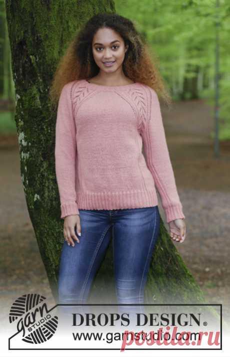 нравится регланная линия. Пуловер Für Elise - блог экспертов интернет-магазина пряжи 5motkov.ru