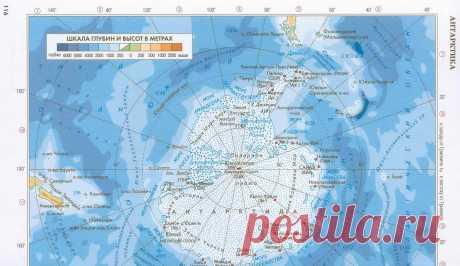 Карта Антарктиды 2 (Изображение JPEG, 2200×1274 пикселов)