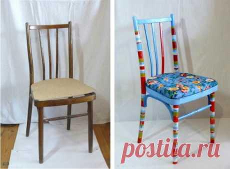 Интересные переделки старой мебели: до и после