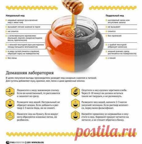 Медовые секреты - как отличить натуральный мед от разведенного?