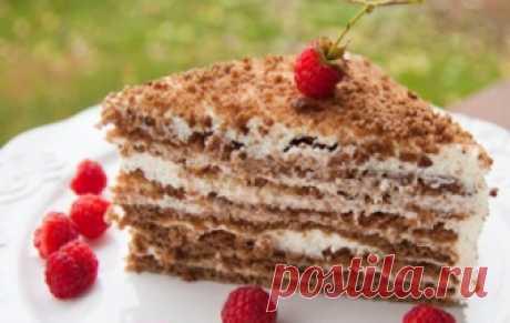Торт «Медовик» со сметанным кремом / Торты / TVCook: пошаговые рецепты с фото