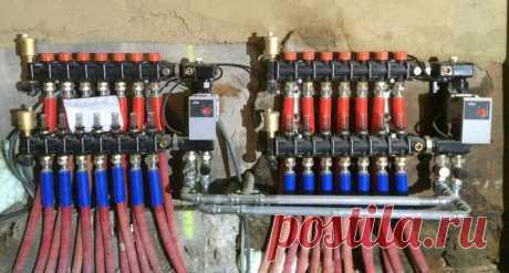 Лучевая система отопления: расчет, плюсы и минусы, отзывы