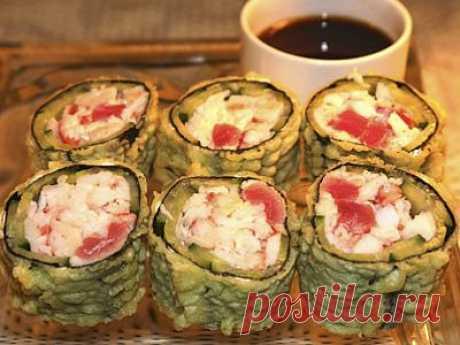 Ацуй Кани Ролл - myrolls.ru - 1000 рецептов суши и роллов