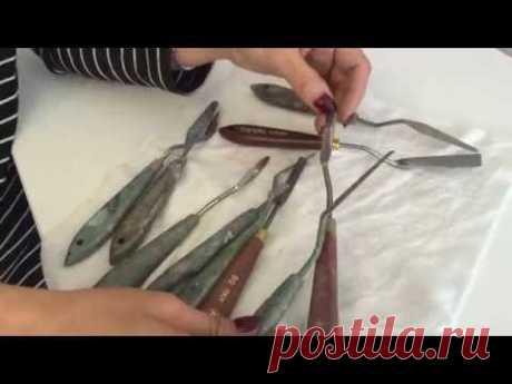 Los tipos básicos mastihinov para la pintura