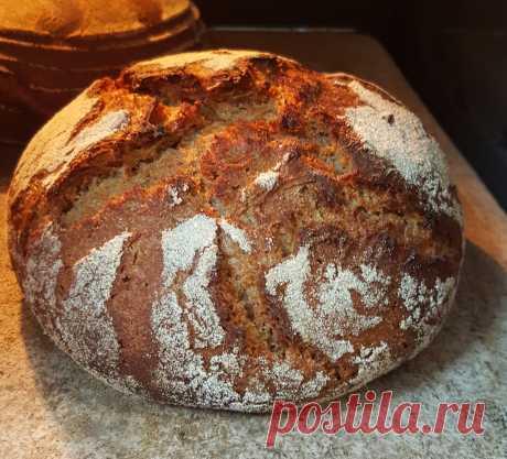 Домашний хлеб на закваске без х/п дрожжей | онлайн-школа домашнего пекаря