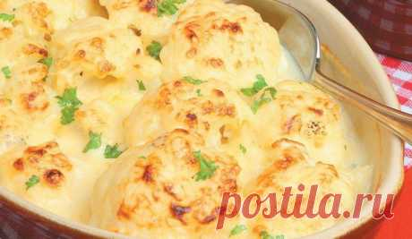 Кулинария>Запеканка from a cauliflower