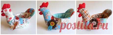 Петухи-корзиночки