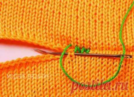 Как правильно и каким швом сшивать вязаные изделия (Уроки и МК по ВЯЗАНИЮ) – Журнал Вдохновение Рукодельницы