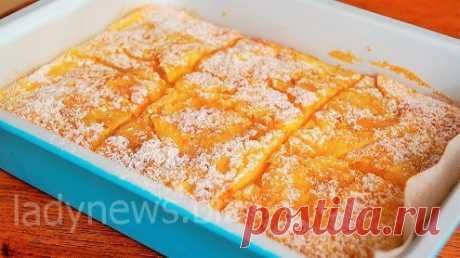Ароматный пирог с яблоками - очень вкусный рецепт!