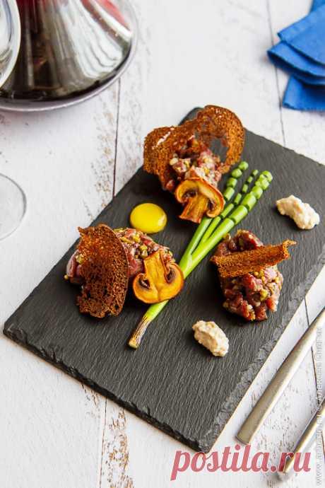 Тартар из говядины | Кулинарные заметки Алексея Онегина