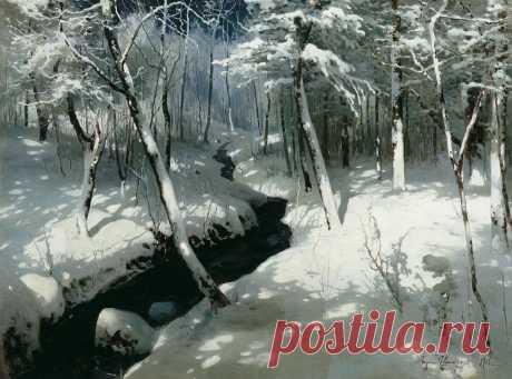 Забытый художник Андрей Шильдер, его волшебная зима, финансовые причуды и мрачная тайна | Кино и картины | Яндекс Дзен