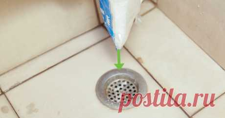 Быстрый способ чистки канализационного стока, который избавит от засоров и запахов за 15 минут