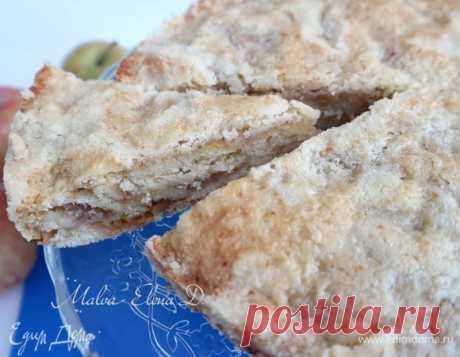 Самый ленивый яблочный пирог. Ингредиенты: яблоки, пшеничная мука, сахарный песок мелкий