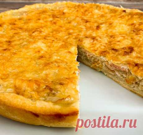 Осенний пирог с луком (Вы не представляете как это вкусно) Простой луковый пирог / Пироги и пирожки / TVCook: пошаговые рецепты с фото