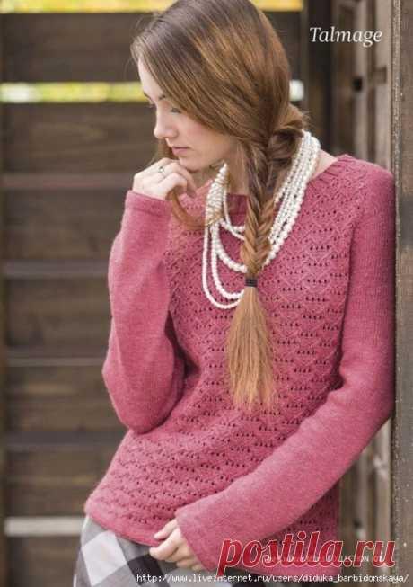 Пуловер Talmage спицами — HandMade