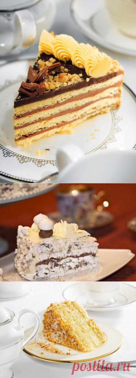 3 легендарных рецепта советских тортов