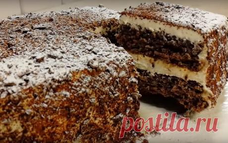 """Тортик без муки """"Сама нежность"""" - Коллекция замечательных рецептов"""
