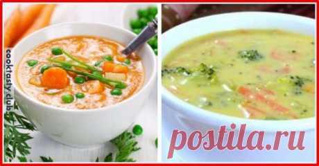 ТОП-3 легких супа из овощей . Милая Я