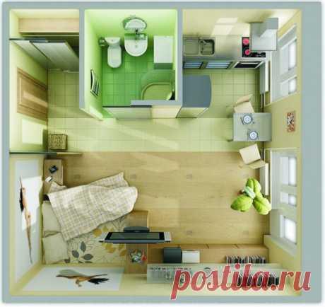 Как сохранить пространство небольшой квартиры — Pro ремонт